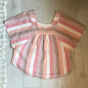 NWT madewell butterfly top XS